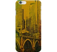 Painted Minneapolis  iphone case iPhone Case/Skin