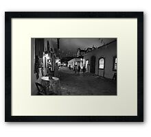 Paraty Street, Brazil Framed Print