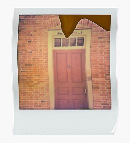 Ten door street. Poster