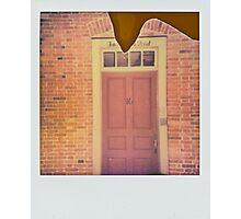 Ten door street. Photographic Print