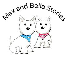 Max and Bella Stories Photographic Print