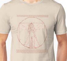 Vitruvian Ultra Man Unisex T-Shirt