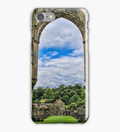 Rievaulx Abbey View iPhone Case/Skin