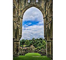 Rievaulx Abbey View Photographic Print