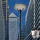 Lamppost in the City by cclaude