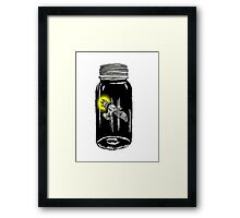 Unusual Firefly Framed Print