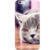 Wild nature - cat #4 iPhone Case/Skin