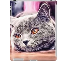 Wild nature - cat #4 iPad Case/Skin