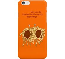 His noodly appendage (light) iPhone Case/Skin