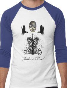 MDNA - Strike a Pose! Men's Baseball ¾ T-Shirt