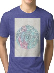 Watercolor Mandala Tri-blend T-Shirt