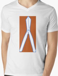 Hedge Shears Mens V-Neck T-Shirt