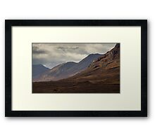 Light in Glen Etive Framed Print