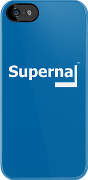 Supernal iPhone blue by Aypoc
