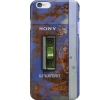 Extremely old and distressed walkman iPhone Case/Skin