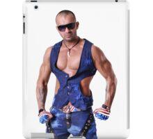 Muscular Male Torso iPad Case/Skin