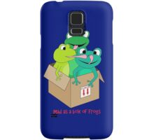 mad as a box of frogs Samsung Galaxy Case/Skin