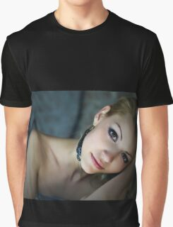Sensual and Charming loving girl in art portrait Graphic T-Shirt