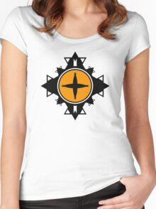 Fractal Art Women's Fitted Scoop T-Shirt