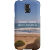 And In That Moment, Our Adventure Began Samsung Galaxy Case/Skin