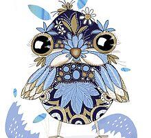 baby bird (bb) by © Karin  Taylor