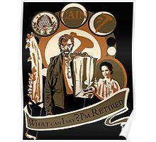 Supernatural - Cain Crest Poster