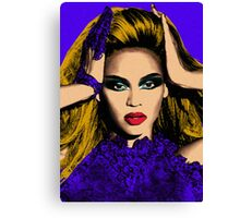 Beyonce Pop Art - #beyonce #beehive Canvas Print