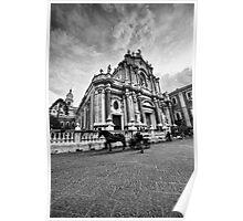 Il Duomo di Catania Poster