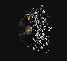 Compac Disc exploding Unisex T-Shirt