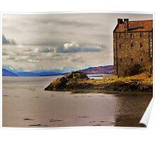 Eilean Donan Castle - Winter  Poster