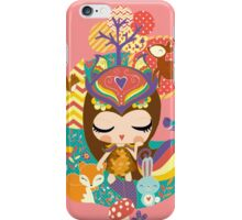Deep in the forest - Nimi Collection iPhone Case/Skin