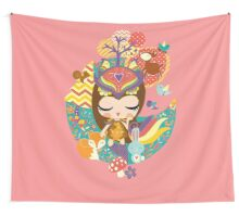 Deep in the forest - Nimi Collection Wall Tapestry