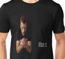 Dr House with brain Unisex T-Shirt