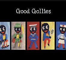 Gollies at Work and Play by TippyToes
