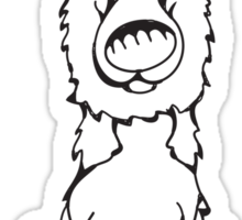 German Shepherd - Outline Sticker