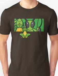 Patient Grasshopper 2 Unisex T-Shirt