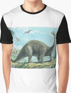 Brontosaurus Graphic T-Shirt