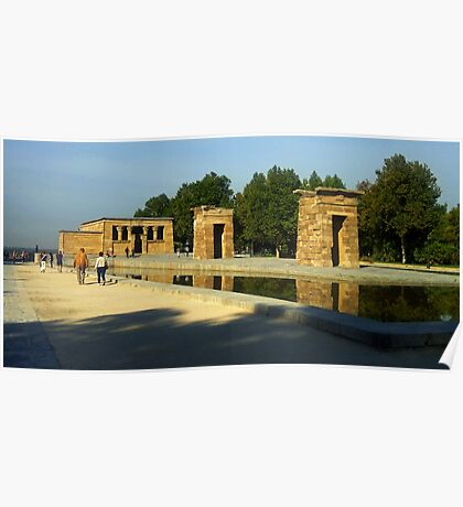 Temple of Debod Poster