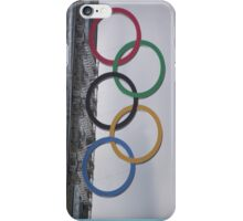 The Olympic Rings on Tower Bridge iPhone Case/Skin