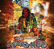 Ravenous Redd Production Poster by Dominion Publishing Enterprises