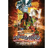 Ravenous Redd Production Poster Photographic Print