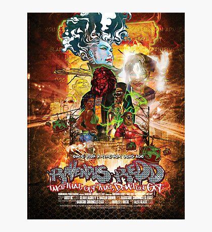 Ravenous Redd Production Poster Photographic Print