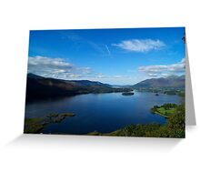 Surprise View- Lake District National Park. Greeting Card