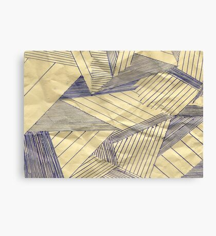 The lost Stripes Canvas Print