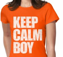 Keep Calm Girl Womens Fitted T-Shirt