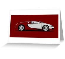 2009 Bugatti Veyron L'Edition Centenaire Greeting Card
