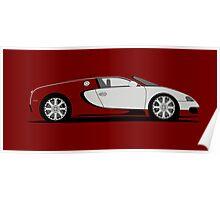 2009 Bugatti Veyron L'Edition Centenaire Poster