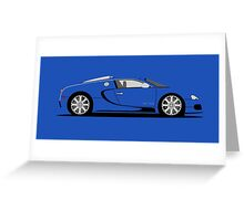 2009 Bugatti Veyron 16.4 EB Edition Greeting Card