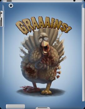 Turkey Zombie by TheZombieLab