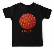 Geometric Epcot Kids Tee